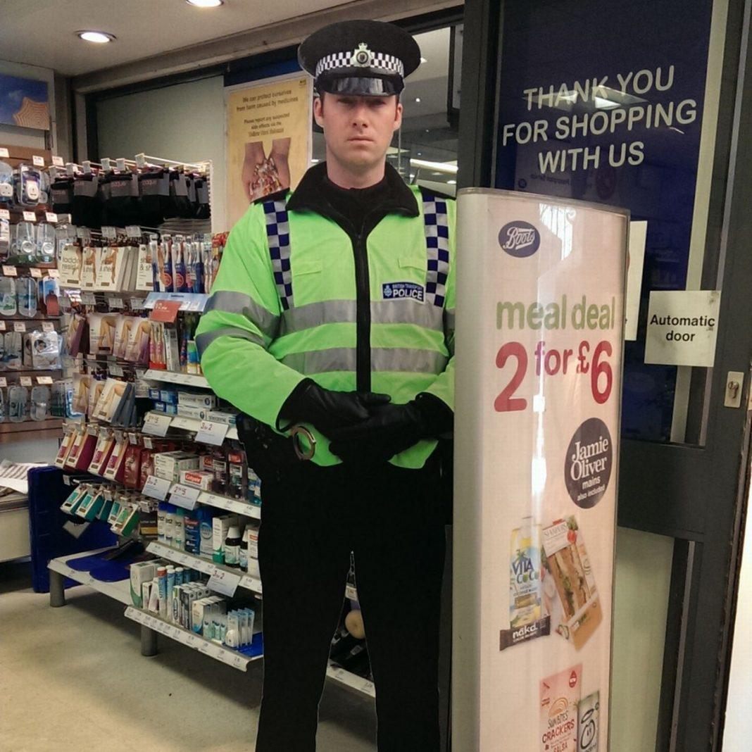 Edinburgh's cardboard cops to strike