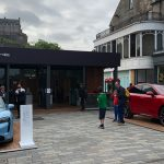 Edinburgh Council step closer to carbon neutrality after renting Castle Street to Porsche