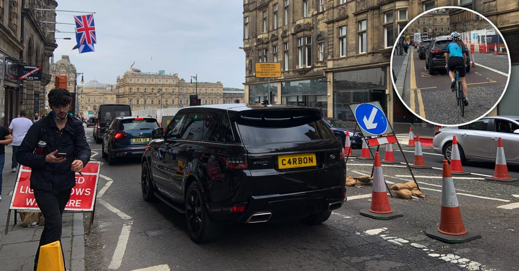Edinburgh Council move step closer to carbon neutrality by ripping up Spaces for People measures