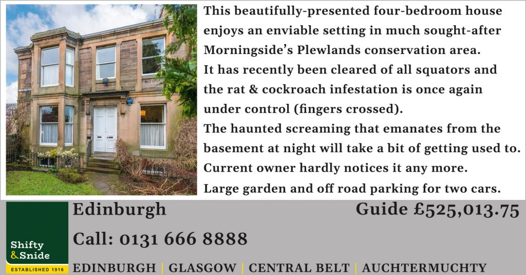 Edinburgh property for salel